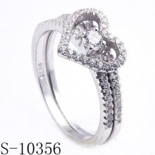 2015 anillos de la joyería del fabricante, anillo de dedo de la manera (S-10356)