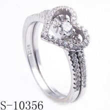 Anéis 2015 da jóia do fabricante, anel de dedo da forma (S-10356)