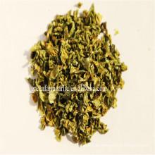 La última cosecha de China de aire seco verde pimiento hojas / ad dulce pimiento