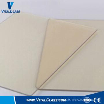 4-6mm verre céramique clair pour cheminée