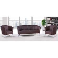 Novo design moderno sofá de escritório de couro simples