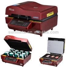 Billig Preis A3 3d Sublimation Drucker Maschine, Becher Wärme drücken, Maschine Tor Sublimation Tassen