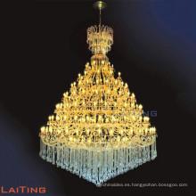 Lámpara de araña de cristal moderna del hotel de la lámpara para el día de fiesta LT-81133