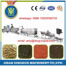 Línea de procesamiento de alimento flotante de 2 toneladas por hora