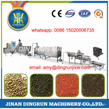2 ton per hour floating fish feed processing line