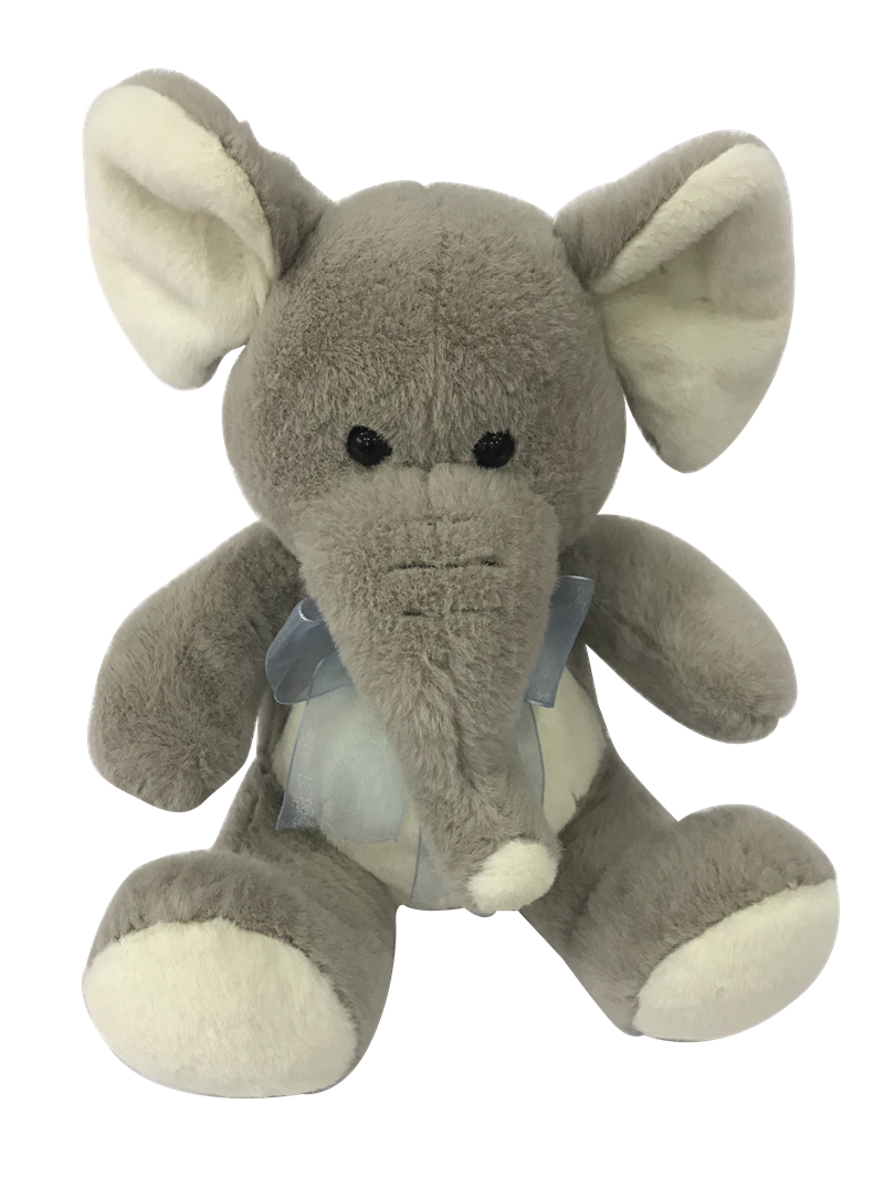Elephant Toy With Bow
