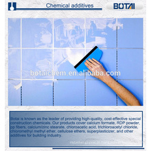 Aditivo químico hidroxipropilmetilcelulose auxiliar para construção civil