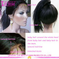 Fashionable Human Hair 4x4 Silk Top Lace Wig Middle Part Silk Top Lace Front Wig