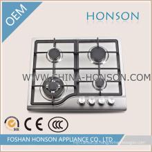 Queimador de gás do ferro fundido 4 da instalação / fogão portáteis