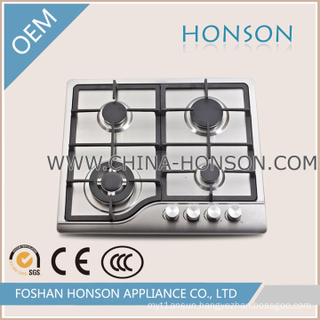 Portable Installation Cast Iron 4 Gas Burner /Gas Stove