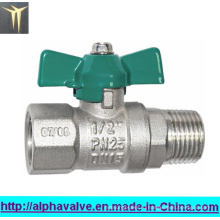Клапан-бабочка Dzr602 латунный для воды, газа, шарового крана масла (a. 0111)