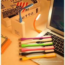 Flexible USB LED de la computadora portátil de luz LED de la lámpara