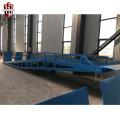 Venta de rampa de carga de muelle de carga ajustable móvil
