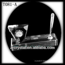 Wonderful K9 Crystal Clock T081-A