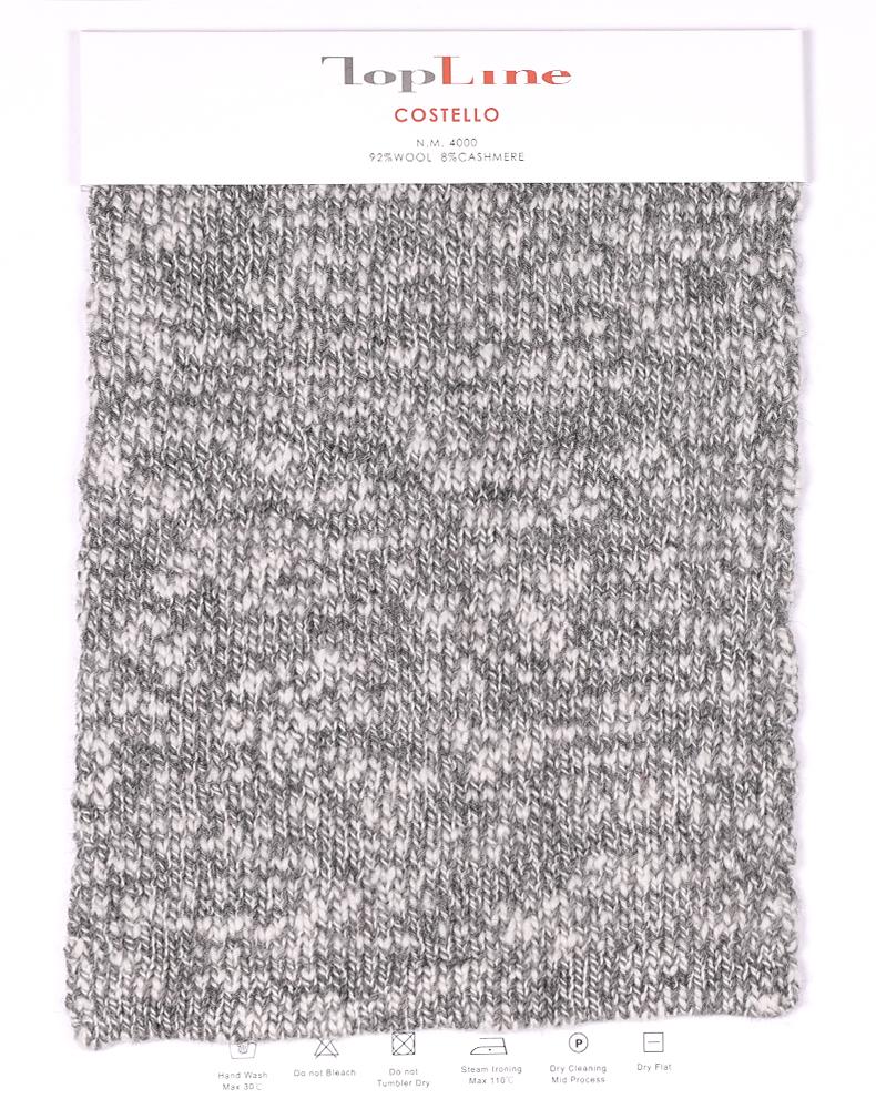 100% cashmere slub yarn
