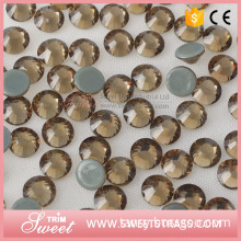 Wholesale dmc rhinestone hot fix crystals for clothes