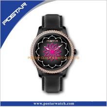 New Design Women Luxury Crystal Digital Watch with Good Quality