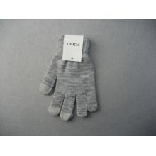 Doublure en polyester de 10g à trois doigts doigt double gant de travail tactile-T2002