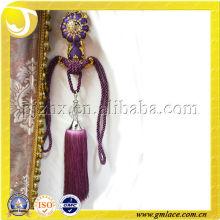 Новый дизайн занавесок Silk Decor Tieback Tassel