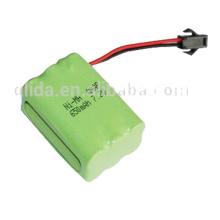 OEM / Odm de la batería de Ni-Mh Aaa 7.2V 650Mah