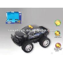 B / O CROSS COUNTRY CAR W / LUZ & MÚSICA, 2 ASST CORES, PRATA, VERMELHO, W / 3 * AA BATTERIES 905011852