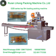 Gzb-350A Hochgeschwindigkeits-Kissen-Typ Automatische Tray Cake Flow Wrapping Machine