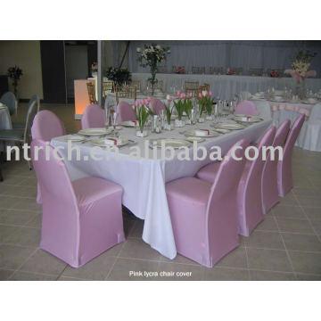 Tampa da cadeira do Lycra / Spandex, tampa da cadeira do banquete / hotel