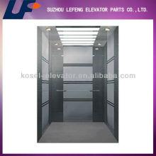 Ascensor de acero inoxidable para ascensor de hospital / hospital