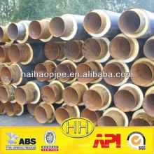 polyurethaneThermal foam Insulation steel pipe