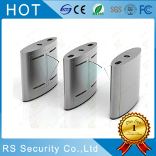 China for Stainless Steel Fare Gate Fingerprint Sensor Dual Passage Flap Turnstile Gate supply to Indonesia Importers