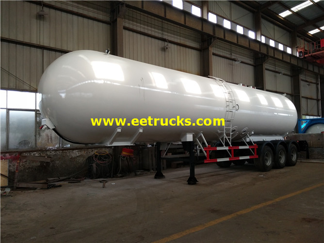60 CBM LPG Tank Semi-trailers