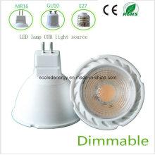 Dimmbale 5W MR16 White COB LED Light