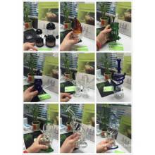 2015 Heiße Verkäufe und preiswerteste Preis-Glaspfeife, rauchende Glaspfeifen-Wasser-Rohre mit schnellem Verschiffen