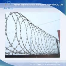 Hot DIP Galvanized Razor Wire/PVC Coated Razor Barbed Wire