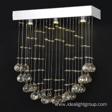romantic led chandeliers pendant light with crystal