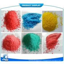 Speckles colorés / Speckles colorés / Speckles colorés au sulfate de sodium / Speckles colorés en forme