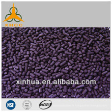 carbone activé imprégné d'alcali