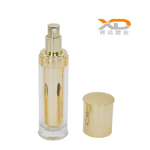 Factory wholesale 30ml 50ml 80ml  120ml cylinder-shape plastic acrylic spray bottle