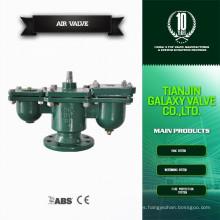 Válvula de control de liberación de aire de hierro fundido