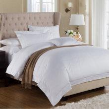 Linge de lit blanc uni (WS-2016338)