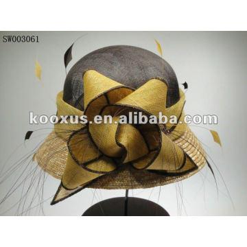 Sinamay chapeaux de dames pour les mariages