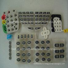 Эластомер Шелковый экран силиконовой резины кнопки Pad