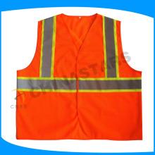Venda por atacado olá vestido de segurança, colete reflexivo, colete de construção
