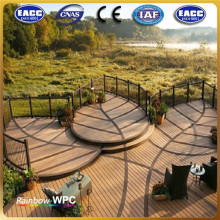 Wood-Plastic Composite Balcony Flooring