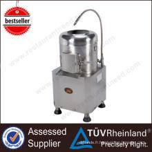 Machine commerciale automatique de machine à éplucher les pommes de terre 8kg de matériel de cuisine