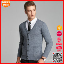 New fashion mens cashmere open cardigan v neck cashmere cardigan sale