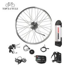 36 V 350 W barato bicicleta elétrica kit kit de conversão de bicicleta do motor do cubo de roda