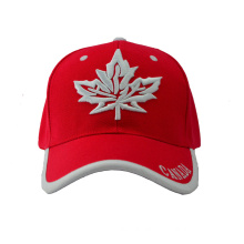 Six Panel Canada Baseball Cap with Special Bill (GKA01-F00066)