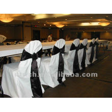 charming 100% polyester visa chair covers for wedding and banquet