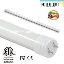 Tubo LED High Lumen T8 para iluminação interior